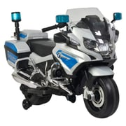 Bmw R 1200rt Powered Riding Police Motorbike Lb 212, Silver, 100% Assembled