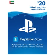 Playstation Network Live USD 20 Online Gift Card