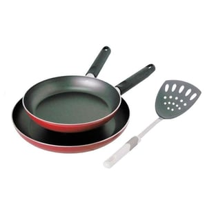 Prestige Fry Cooking Pan With Spatula Cookware Set 2Pc
