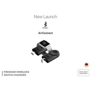 Smart ACAW01 AirConnect Premium For Apple Watch Wireless Charger Black