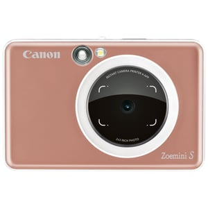 Canon ZOEMINI S Instant Camera With Printer Rose Gold