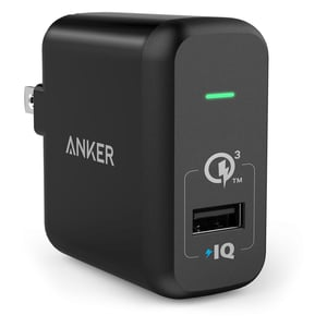 Anker Power Port Plus Wall Charger - Black