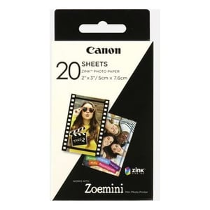 Canon ZP2030 Zink Photo Paper 20 Sheets