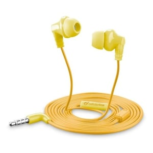 Cellular Line CRICKETSMARTY InEar HeadPhone Yellow