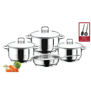 Prestige Stainless Steel Cookware Set 9Pc