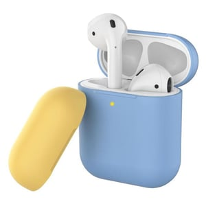 Promate SILICASE Silicon Case For AirPods Blue