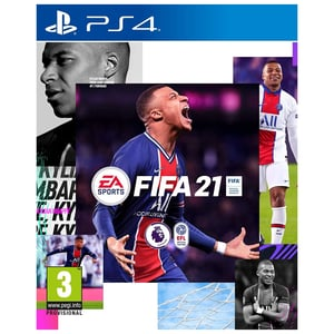 PS4 FIFA 21 Game