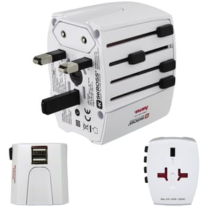 Hama 128226 USB World Travel Adapter