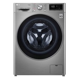 LG Front Load Washer 9 kg F4V5VYP2T, Bigger Capacity, AI DD, Steam, ThinQ