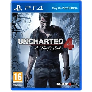 PS4 Uncharted 4: A Thief's End Game