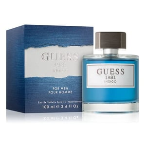 Guess 1981 Indigo Perfume For Men 100ml Eau de Toilette