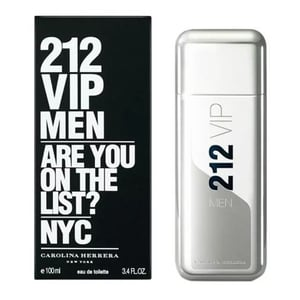 Carolina Herrera 212 Vip Perfume For Men 100ml Eau de Toilette