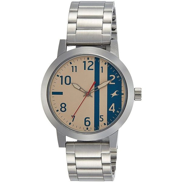 Fastrack 3162SM01 Bare Basics Men's Watch