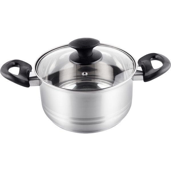 Lamart LTB1810 Casserole With LID 18cm Silver