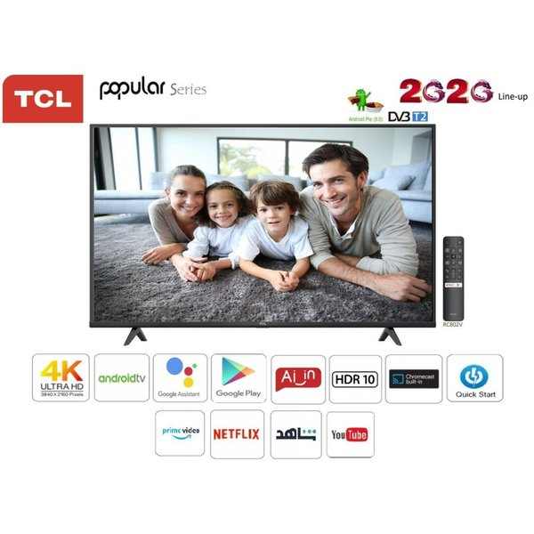 TCL 70P617 4K Ultra HD Android Television 70 Inches