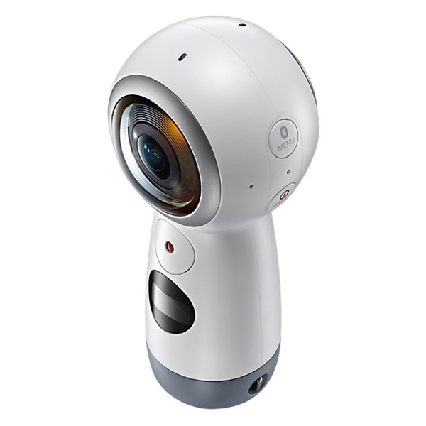 Samsung Gear 360 2017 Mobile Spherical VR Camera White SM-R210NZWAXSG