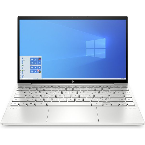 HP ENVY 13-BA0011NE Laptop - Core i7 1.3GHz 8GB 512GB Shared Win10 13.3inch FHD Silver English/Arabic Keyboard