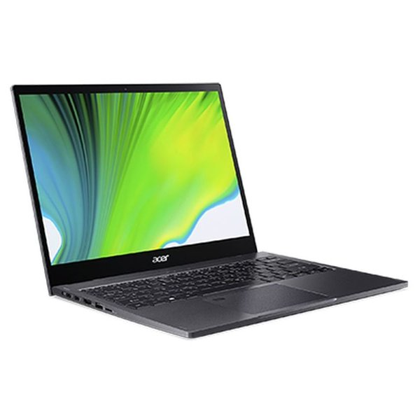Acer Spin 5 SP513-54N-73CY Convertible Touch Laptop - Core i7 1.3GHz 16GB 1TB Shared Win10 13.5inch Steel Grey English/Arabic Keyboard