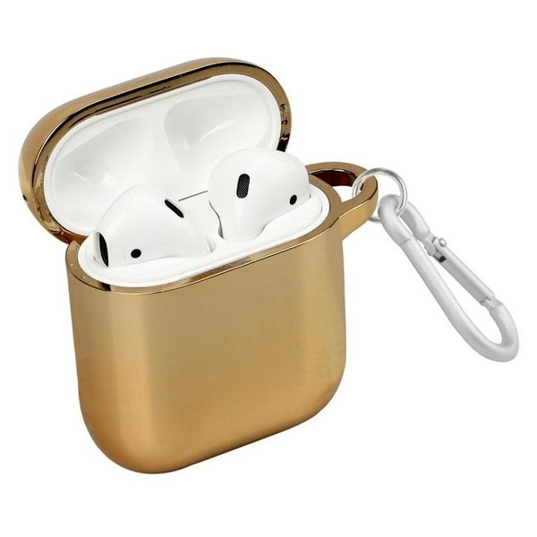 Promate Neon Case For Airpods Gold