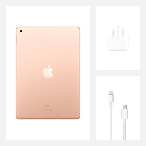 iPad (2020) WiFi 128GB 10.2inch Gold