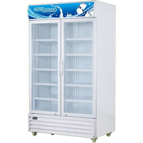 Super General Upright Bottle Cooler 1000 Litres SGSC1016IS